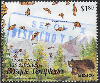 Mexico 1995c Used - Endangered Species