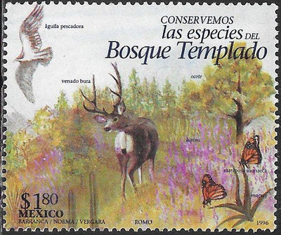 Mexico 1995d Used - Endangered Species