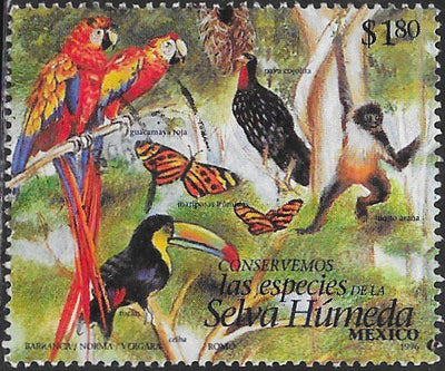 Mexico 1995e Used - Endangered Species