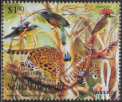 Mexico 1995j Used - Endangered Species