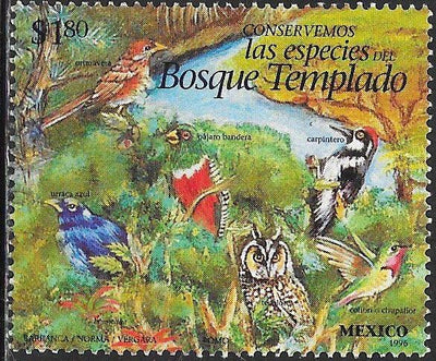 Mexico 1995l Used - Endangered Species