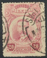 Mexico 615a Used - Belisario Domínguez