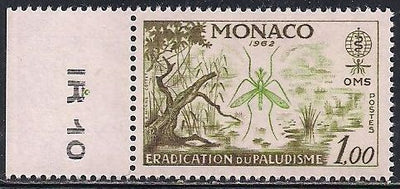Monaco 504 MNH - Malaria Eradication
