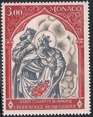 Monaco 721 MNH - Red Cross