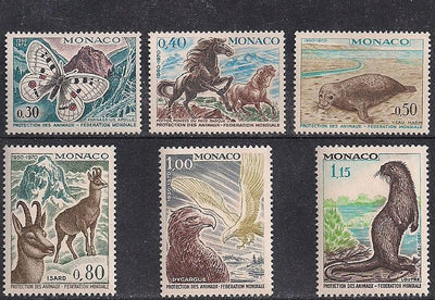 Monaco 760-765 MNH - Animals
