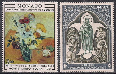 Monaco 766-767 MNH - Art - Red Cross