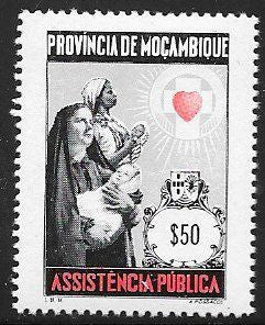 Mozambique RA72 MNH - Women & Children
