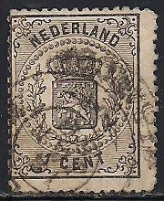 Netherlands 18 Used - Coat of Arms