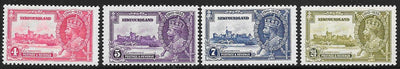 Newfoundland 226-229 Unused/Hinged - George V Silver Jubilee