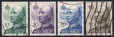 Norway 1017a & 1019a & 1019A & 1020a Used - King Harald