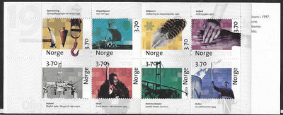 Norway 1167a MNH - Complete Booklet - 350th Anniversary of the Post Office