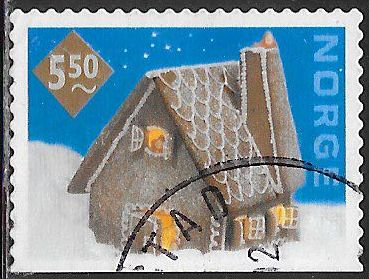 Norway 1321 Used - ‭Christmas - Gingerbread House