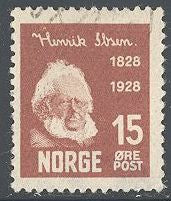 Norway 133 Used - Henrik Ibsen