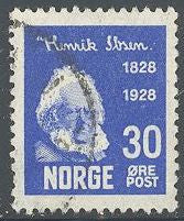 Norway 135 Used - Henrik Ibsen