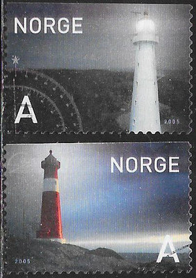 Norway 1442-1443 Used - Lighthouses