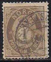 Norway 22 Used - Perf Issues - Posthorn
