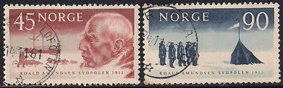 Norway 399-400 Used - Roald Amundsen