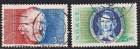 Norway 948-949 Used - Writers