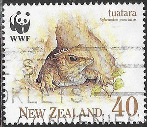 New Zealand 1024 Used - ‭‭‭Tuatara - In Burrow