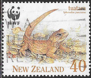 New Zealand 1026 Used - ‭‭‭Tuatara - Male
