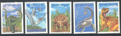 New Zealand 1180-1184a MNH - Dinosaurs
