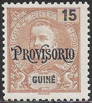 Portuguese Guinea 90 Unused/Hinged - King Carlos