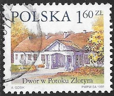Poland 3466 Used - Country Estates - Potoku Ziotym