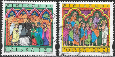 Poland 3576 Used - ‭‭Easter