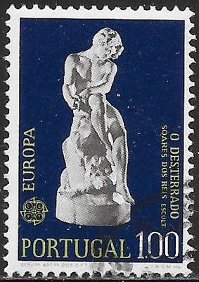 "Portugal 1198 Used - Europa - ‭""The Exile,"" by Soares dos Reis"