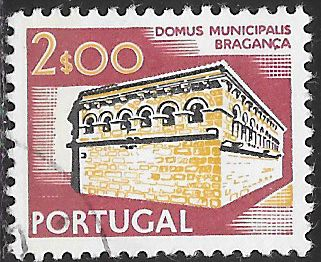 Portugal 1209 Used - Buildings - ‭City Hall, Bragança