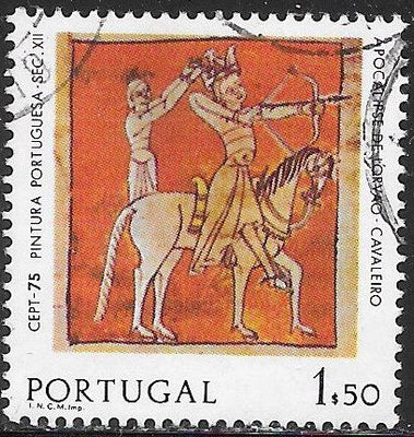 Portugal 1253 Used - Europa - Horseman of the Apocalypse - 12th Century