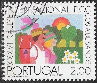 Portugal 1257 Used - ‭International Federation of Camping and Caravanning