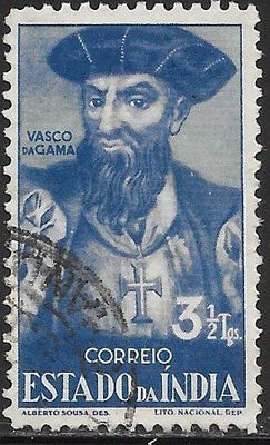 Portuguese India 470 Used -‭ ‭‭Vasco de Gama - Explorer