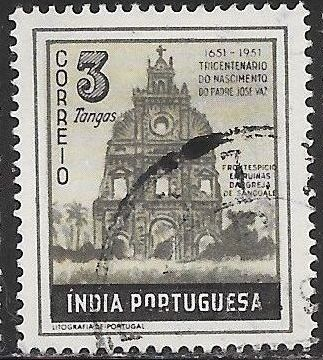 Portuguese India 512 Used -‭ ‭Ruins of Sancoale Church