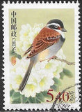 People's Republic of China 3179  Used - Birds - ‭Kozlov's Bunting