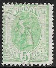 Romania 121 Used - King Carol I