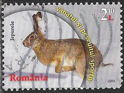 Romania 5466 Used - Sport Hunting & Fishing - Rabbit