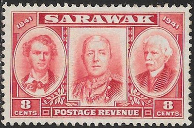 Sarawak 155 Unused/Hinged - ‭James Brooke, Charles V.  ‭Brooke & Charles J. Brooke