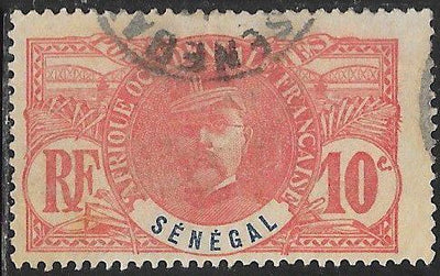 Senegal 61 Used - ‭General Louis Faidherbe