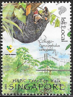 Singapore   Used   parkinlot Stamps & Collectibles, LLC