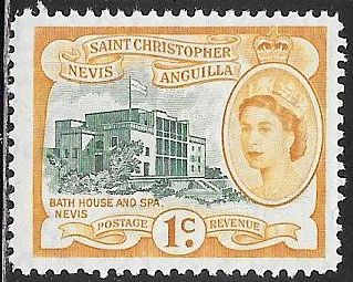 St. Christopher Nevis Anguilla 121 MNH - Bath House & Spa