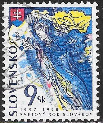 Slovakia 276 Used - ‭World Year of Slovaks