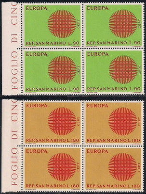 San Marino 533-534 MNH - Europa - Please Read Description