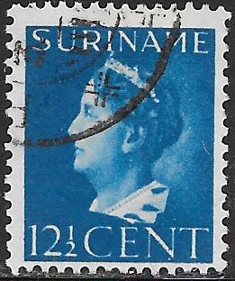 Suriname 174 Used - Queen Wilhelmina