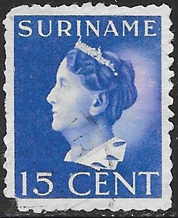 Suriname 175 Used - Queen Wilhelmina - Space FIller