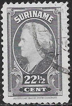 Suriname 196 Used - ‭Queen Wilhelmina