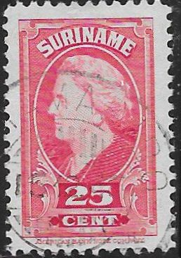 Suriname 197 Used - ‭Queen Wilhelmina