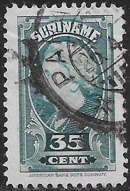 Suriname 199 Used - ‭Queen Wilhelmina