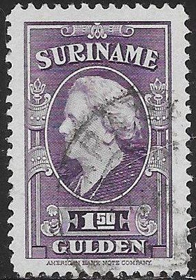 Suriname 204 Used - ‭Queen Wilhelmina