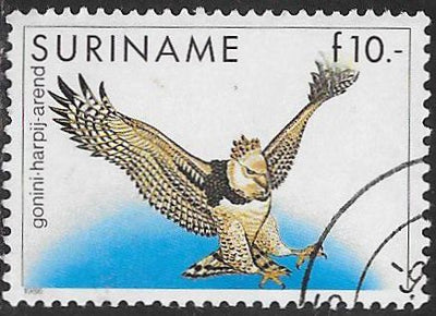 Suriname 729 Used - Birds - Harpy Eagle